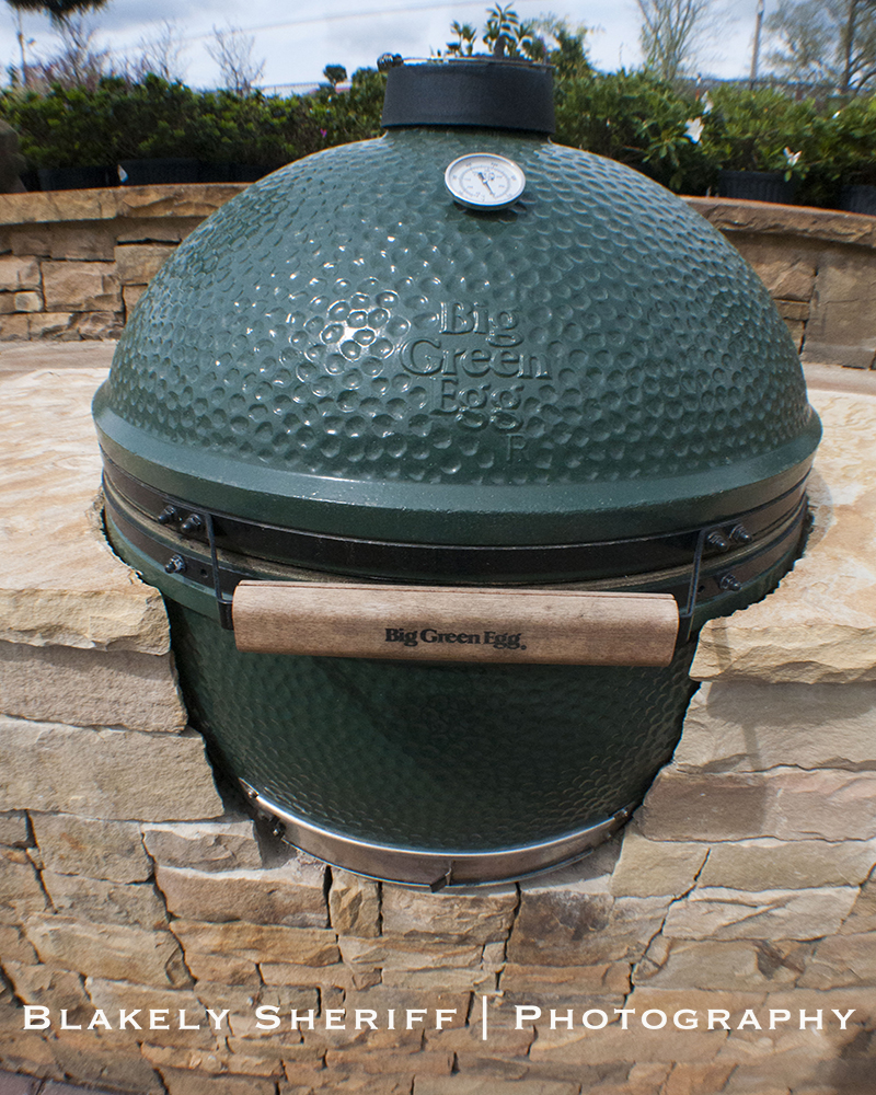 Big Green Egg Outdoor Kitchen: Southern Design Nursery
